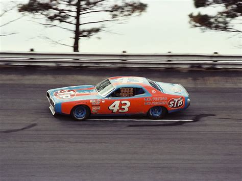 Richard Petty 43 by Richard Petty 43 Stpdodge Charger 1977 Atlanta 500
