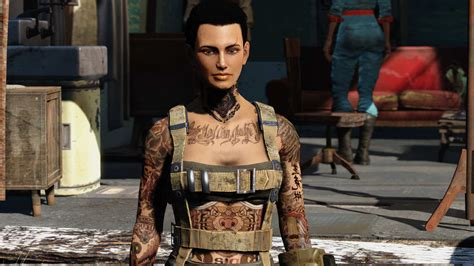 body tattoo fallout 4 tattoo model traditional ink fallout 4 mod cheat fo4