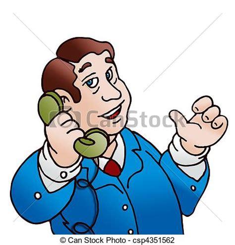 clipart uomo clipart di telefono uomo classico illustrazione uomo
