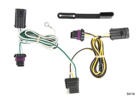Chevy Impala 2000 2005 Wiring Kit Harness Curt Mfg