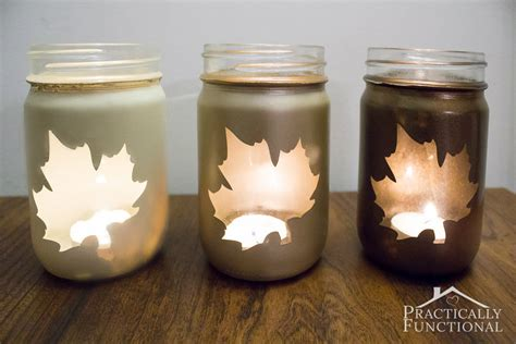 diy decorations candle jars diy silhouette candle jars