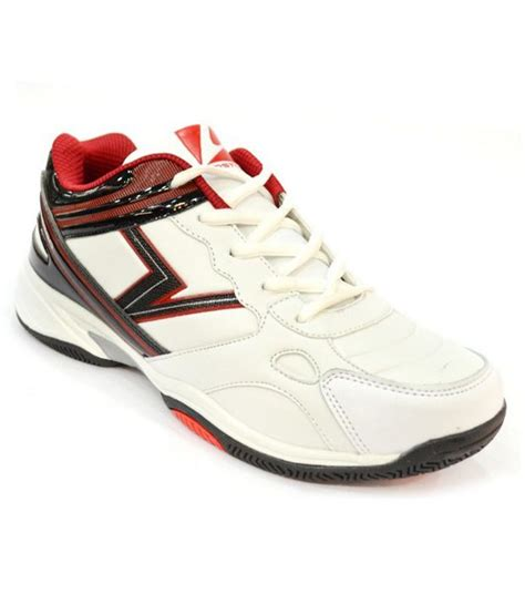 comfortable red shoes vostro comfortable white red sports shoes price in india