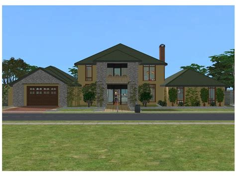 the house 2 sims 2 simple family house by ramborocky on deviantart