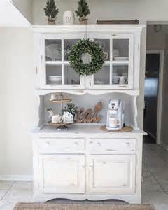 how to decorate a buffet hutch best 20 dining hutch ideas on painted hutch