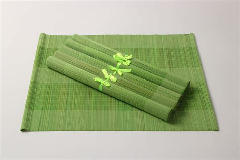 cool bamboo placemats best home decor ideas cool
