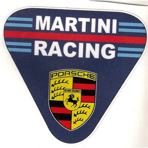 Porsche Martini Racing Aufkleber by Martini Racing Porsche Sticker Cafe Racer Bretagne