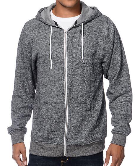 Jaket Hoodie Sweater Ash Navy mens hoodies zip up fashion ql