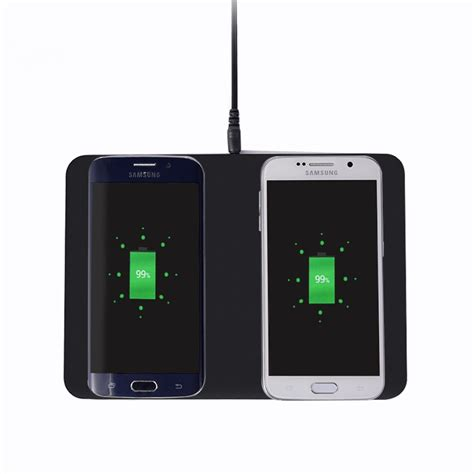 Ultra Thin For Andromax Qi itian q300 dual qi wireless charger pad transmitter ultra thin charging station for samsung s7