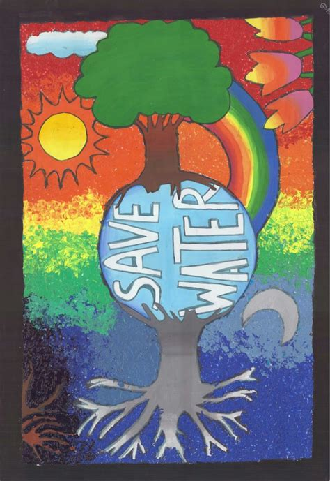 pattern art competition 12 best national poster competition water conservation 2