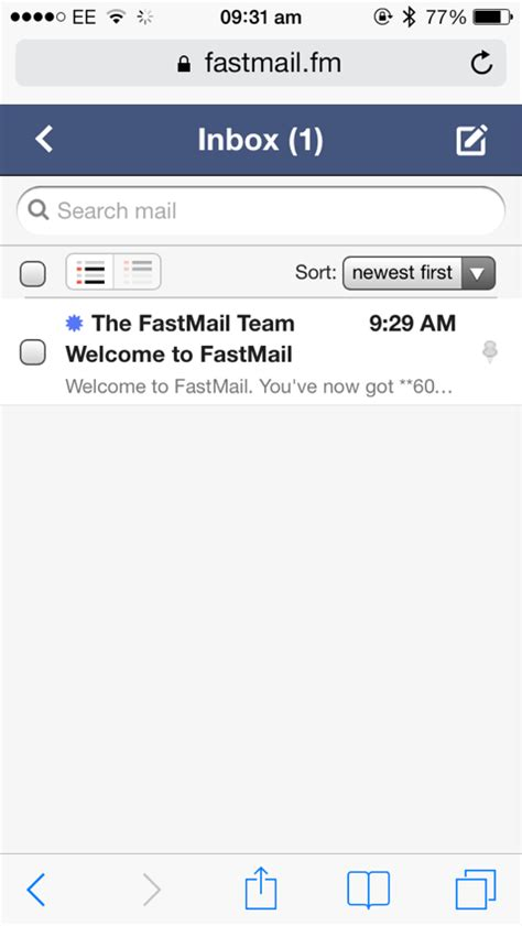 fastmail mobile fastmail s new mobile web app is faster than your
