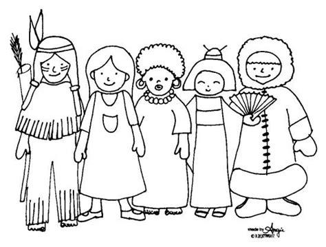 imagenes para dibujar indigenas razas y culturas diversas dibujalia dibujos para