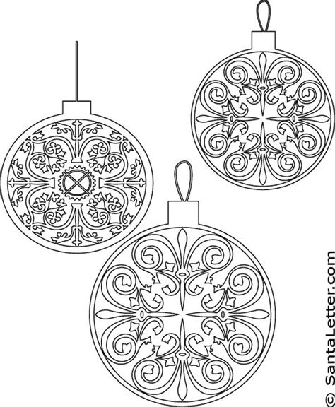 mosaic christmas coloring pages festival collections free christmas ornament coloring pages festival collections