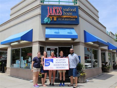summer house rehoboth jake s seafood house donates 500 to rehoboth fireworks fund cape gazette