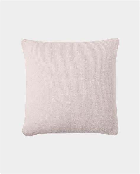 Flat Cushions by Cushion Flat Knit Mix Pink Allude Shop