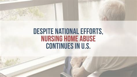 despite national efforts nursing home abuse continues in u s