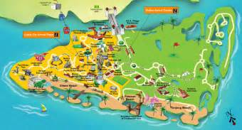 Singapore tourist attractions map about singapore city mrt tourism map
