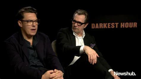 darkest hour joe wright gary oldman joe wright talk darkest hour newshub youtube