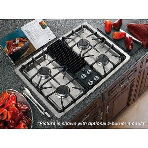 Details about ge profile 30 inch gas downdraft cooktop pgp990senss