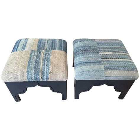 rug upholstered ottoman fez ottoman by nathan turner upholstered with vintage