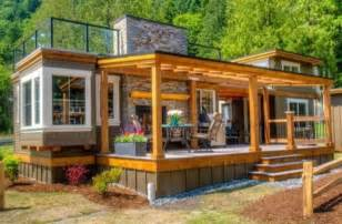 tiny home luxury luxurious tiny home with a roof top terrace diy cozy home