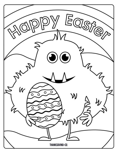 coloring pages easter sweet and easter coloring pages