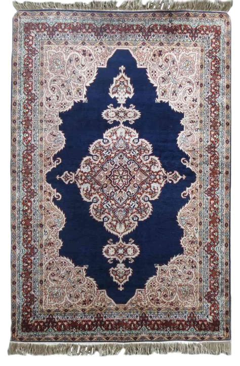 handmade rugs buy silk blue handmade rugs from india sf19 navyasfashion