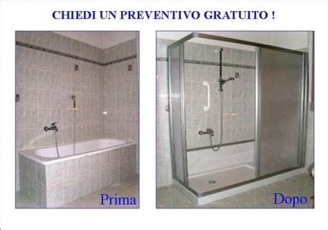 togliere vasca e mettere doccia trasformazione vasca da bagno in piatto doccia cuneo