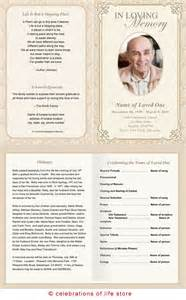 Memorial Program Templates by 22 Best Images About Memories On Program