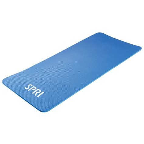 Workout Mats by Spri Professional Blue Mat 55 X 24 X 5 8 In