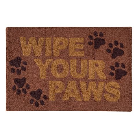 c and f enterprises rugs wipe your paws hooked rug 2 x 3 c f enterprises