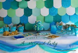 Mermaid party decorating under the sea ideas 027