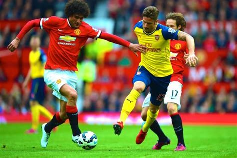 arsenal live score manchester united vs arsenal live score highlights from