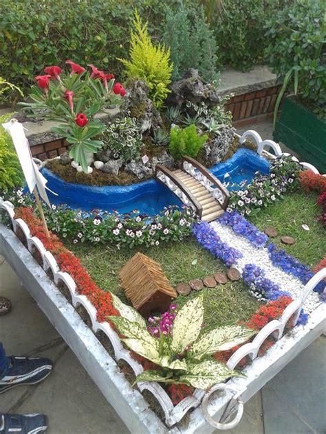 Backyard Trains Model Of Garden