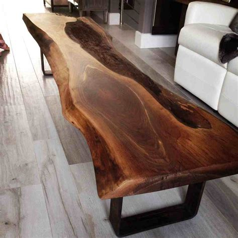 black walnut coffee table live edge black walnut coffee table bois design