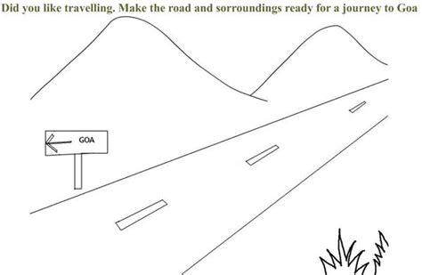 Coloring Page Road by Free Coloring Pages Of Road