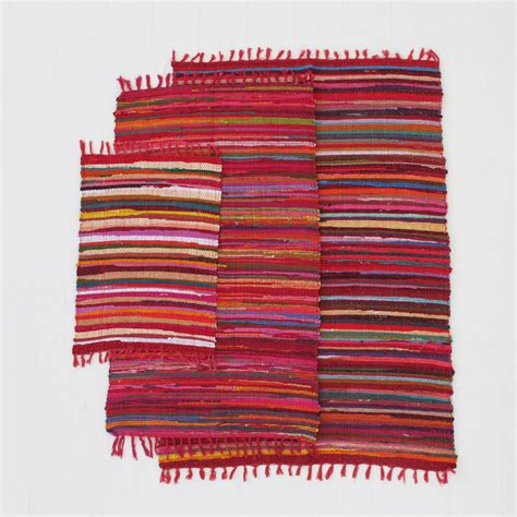 fair trade rugs handloomed cotton rag rugs by paper high