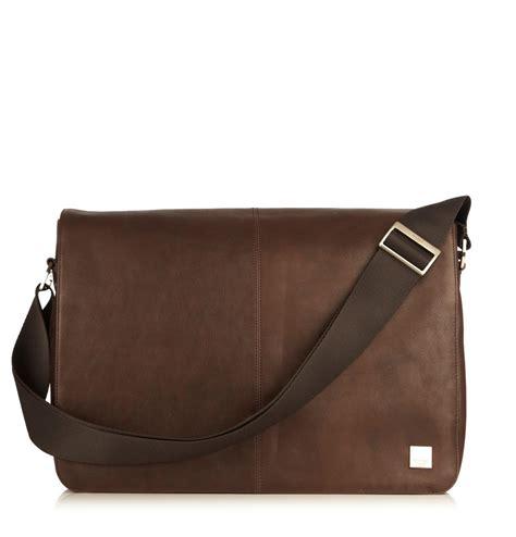 Tas C K Sumbu knomo bungo 15 6 inch bruin representatief en zakelijke laptoptas voor heren