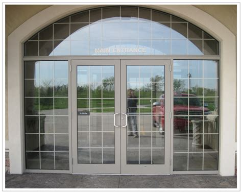 Comercial Glass Doors Gallery Mid Iowa Glazing