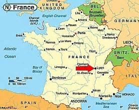 Lyon France Map by Info Lyon France Map Travel