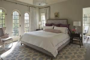 Gray Owl Bedroom Lavender Bedroom Transitional Bedroom Benjamin