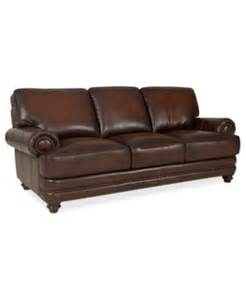 Macy Leather Sofa Brett Leather Sofa 91 Macys For The Home