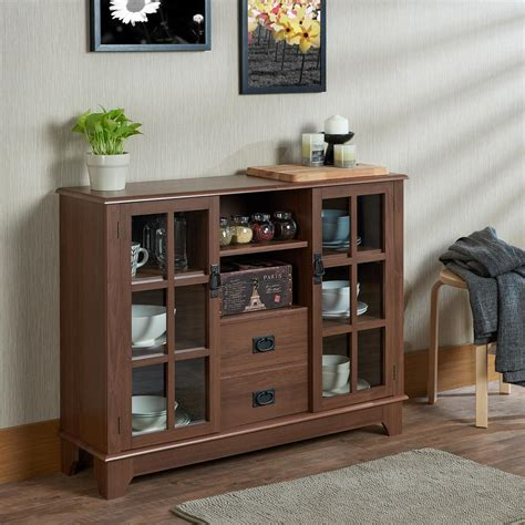 acme cabinet doors reviews acme furniture dubbs walnut china cabinet 97324 the home