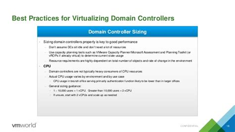 vmworld  virtualize active directory