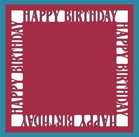 happy birthday photo frame template 25 best ideas about free birthday card on