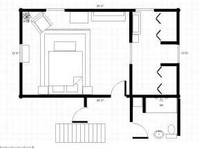 master bedroom and bath floor plans adding a bathroom to a dressing area with room plan