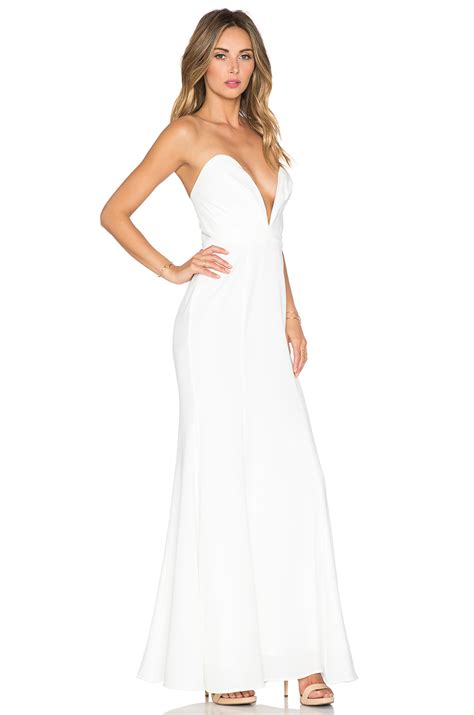Helena Dres Maxi jarlo helena maxi dress in white lyst