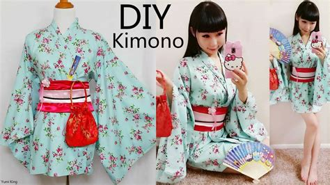 kimono pattern cosplay diy how to make easy kimono yukata with easy pattern diy
