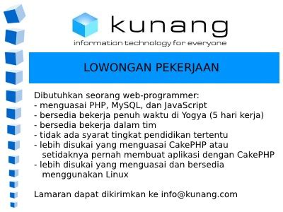 membuat website lowongan pekerjaan jobs jogja digital valley