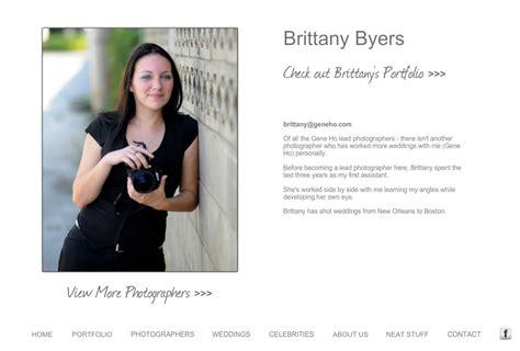 biography photographer gene ho photography wedding photography bio brittany