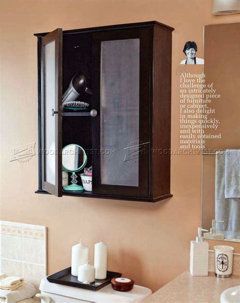 small bathroom cabinet plans bathroom wall cabinet plans woodarchivist